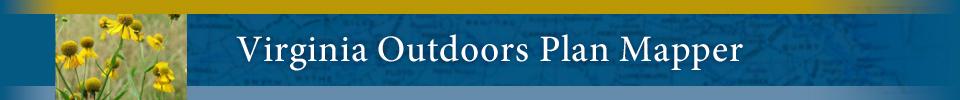Virginia Outdoors Plan Mapper